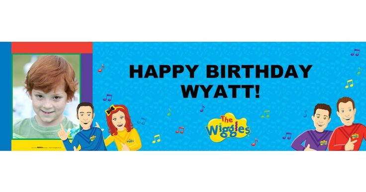 Personalize your very own Wiggles themed party supplies specially designed for the birthday boy or girl! #Birthday #Party #Wiggles #Supplies