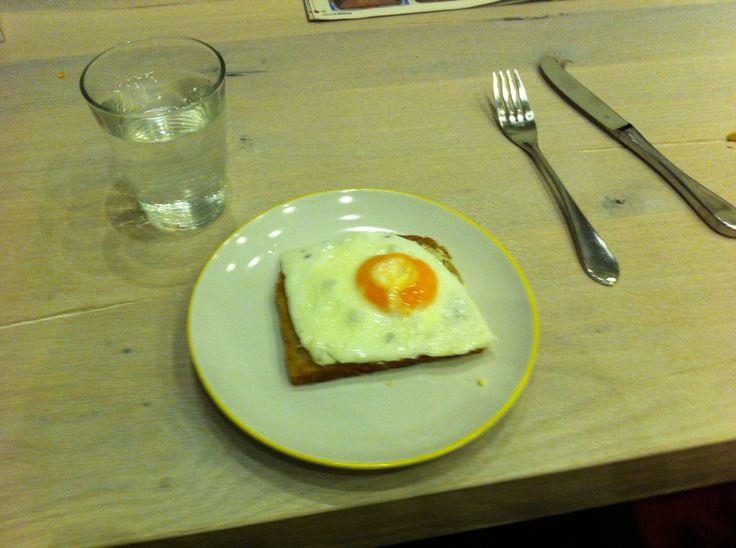 Es gibt doch nichts besseres als ein Ei zum Frühstück...