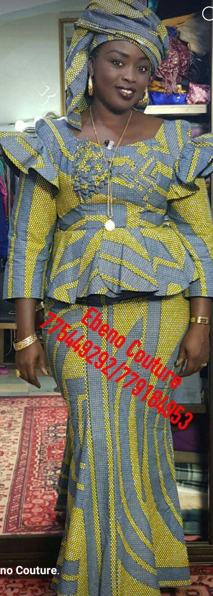 20+ idées de Haut en pagne en 20   mode africaine, tenue ...
