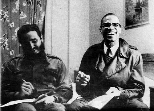 Fidel Castro and Malcolm X