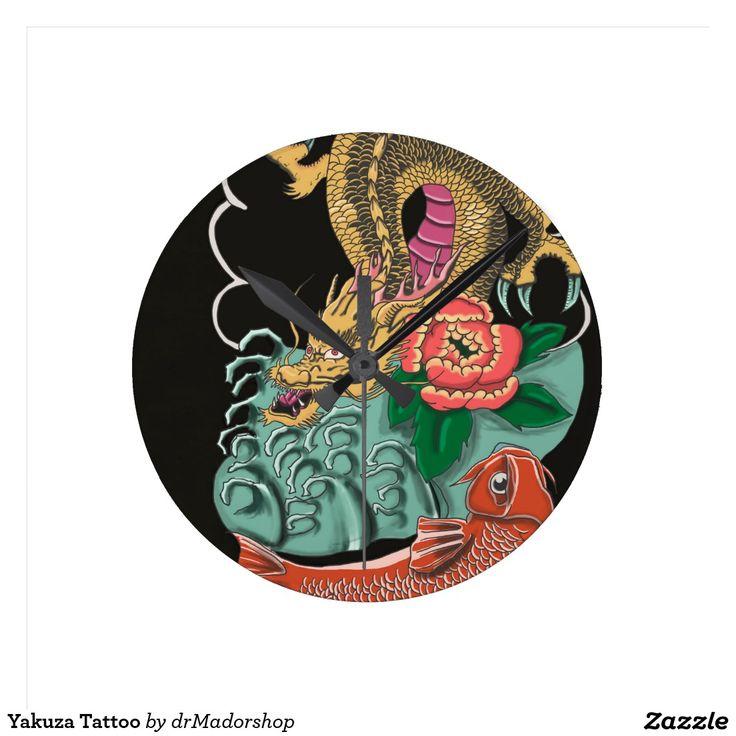 Yakuza Tattoo Clock
