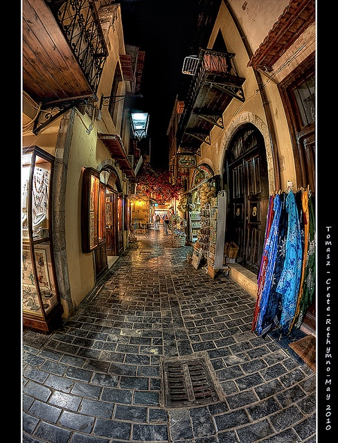 Crete  - So Ancient looking but inviting. Love the street.