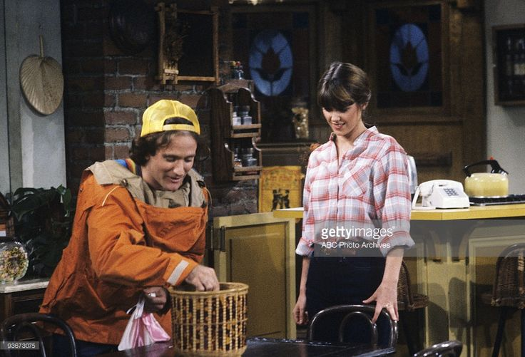 MORK & MINDY 'Mork and the Family Reunion' - 4/9/81 Robin Williams, Pam Dawber