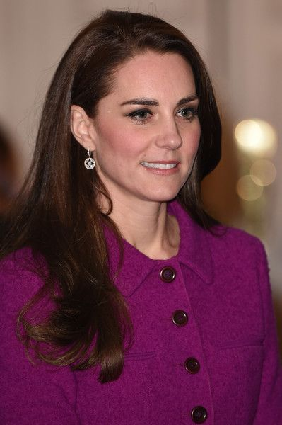 Kate Middleton Photos Photos - Catherine, Duchess of Cambridge attends The Guild of Health Writers Conference with Heads Together at Chandos House on February 6, 2017 in London, England. - The Duke