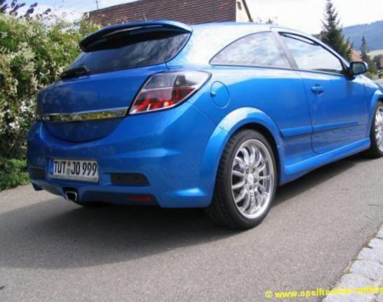 Astra H GTC Opel Specification - http://autotras.com