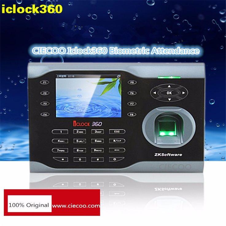 8000 empreintes digitales temps de présence TCP IP temps d'empreinte digitale horloge iclock 360 biométrique employé record de fréquentation piste
