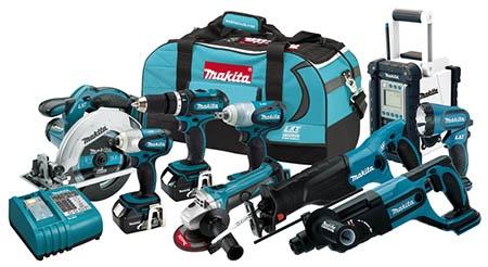 Makita 18V LXT Cordless Power Tools