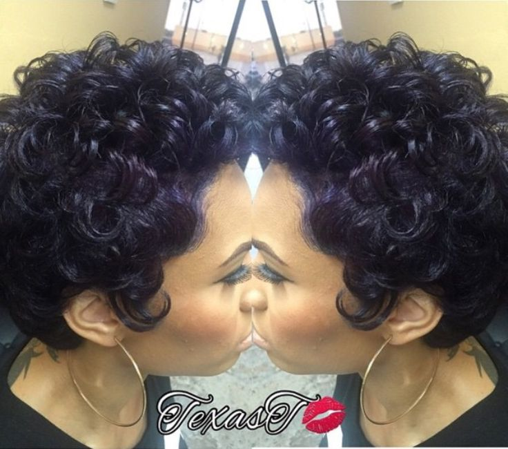 32 best short cuts for natural hair for real images on pinterest pin curls and purple urmus Images
