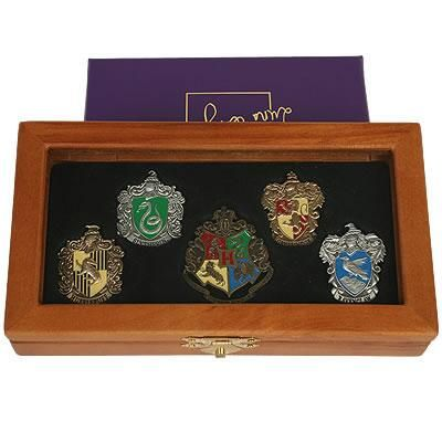 Hogwarts House Pin Set by Noble Collection - Harry Potter Shop