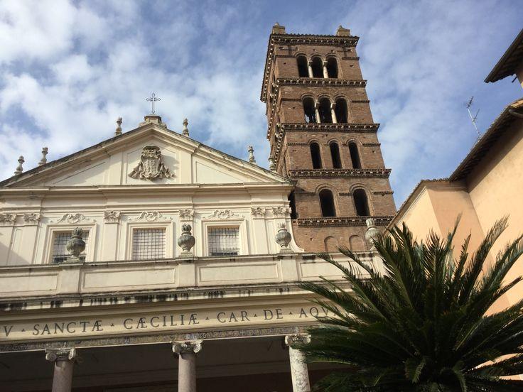 #Trastevere Santa Cecilia! #Roma