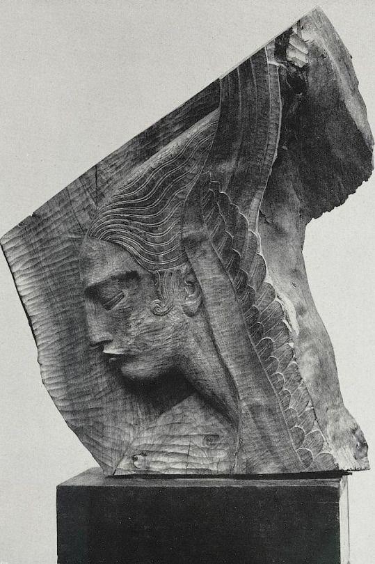 Ivan Meštrović / Studies for two angels, 1922
