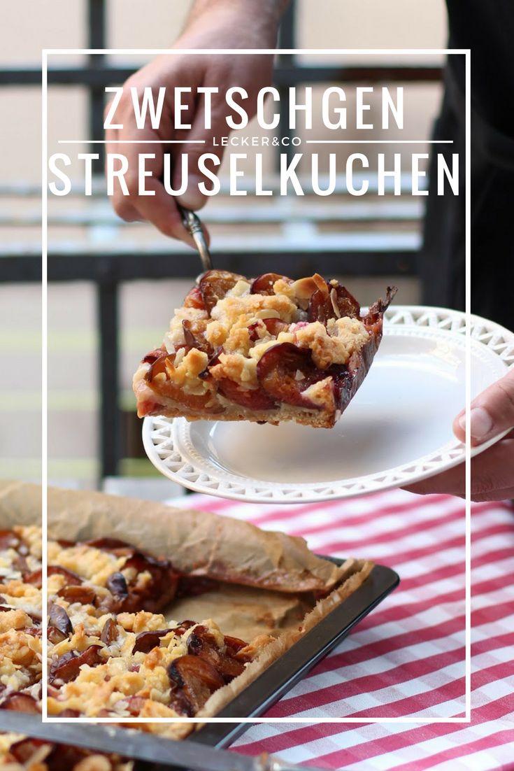 Zwetschgen-Streuselkuchen