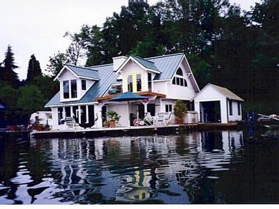 64 best images about houseboats on pinterest for Floating homes portland