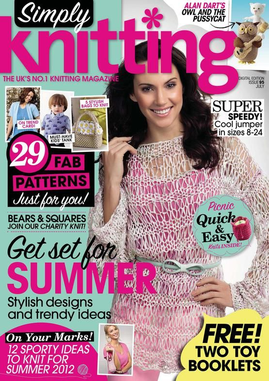 Simply Knitting Magazine : Best mags simply knitting images on pinterest