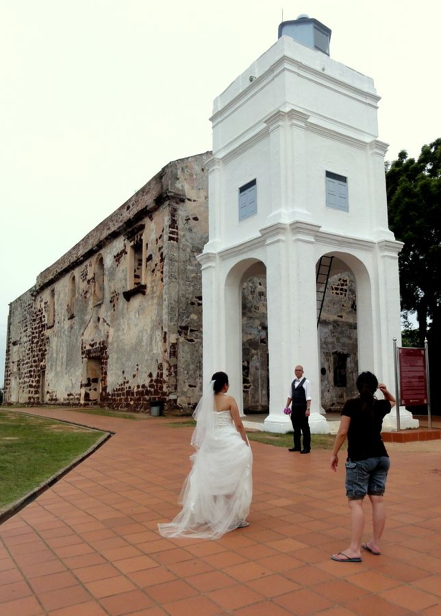 A Famosa Fort and St. Paul's Ruins in Malacca