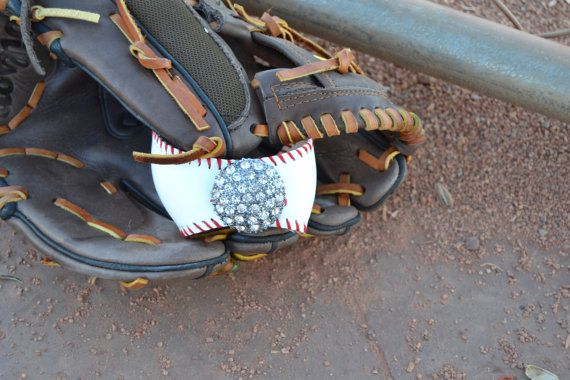 Baseball Bracelet  cuff TBall by PaisleesandPigtails on Etsy, $23.00