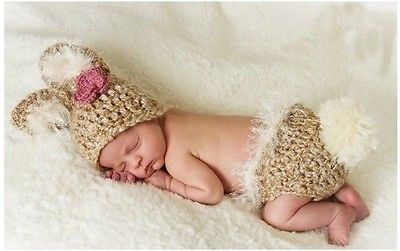 2014 Cute Baby Infant Knitted Costume Photo Photography Prop Newborn