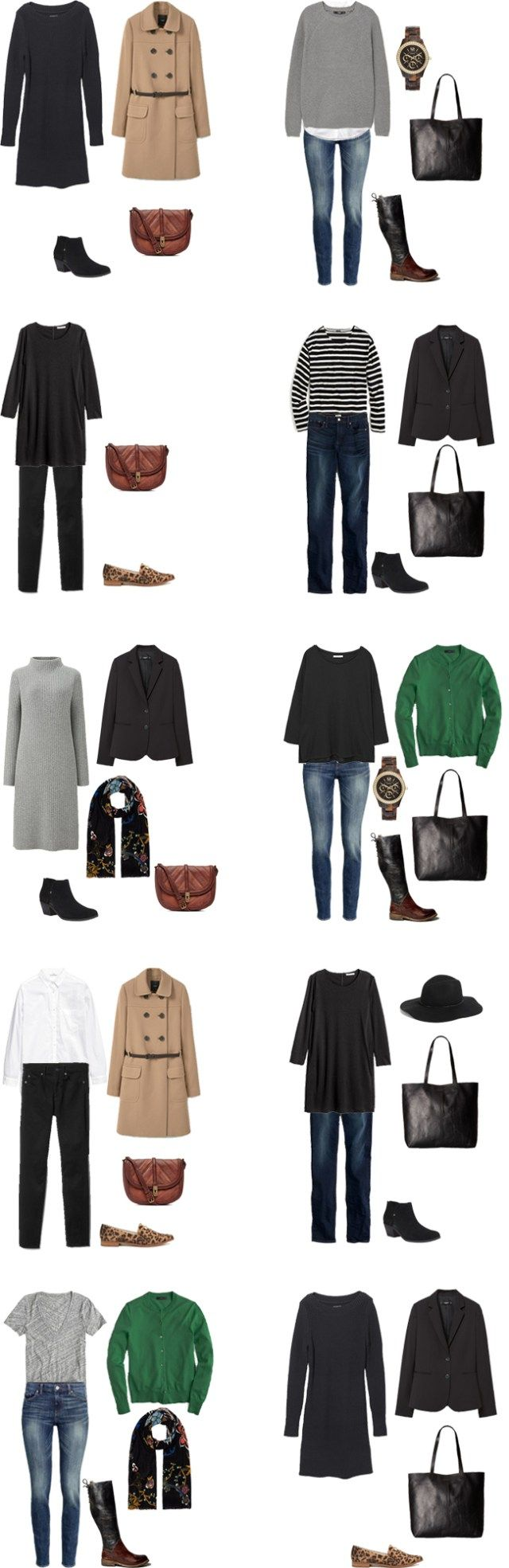 What to Wear in Germany and Austria Outfit Options 1-10 #travellight…