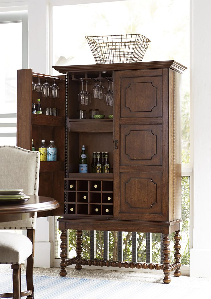 "Dogwood ""A Guy Walks Into A Bar"" Cabinet by Universal at Baer's Furniture"