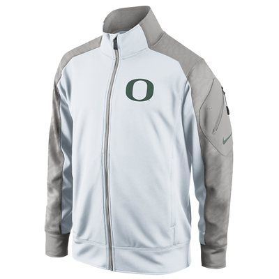 No. 6 - Nike Oregon Ducks Fly Speed Full Zip Performance Jacket - White