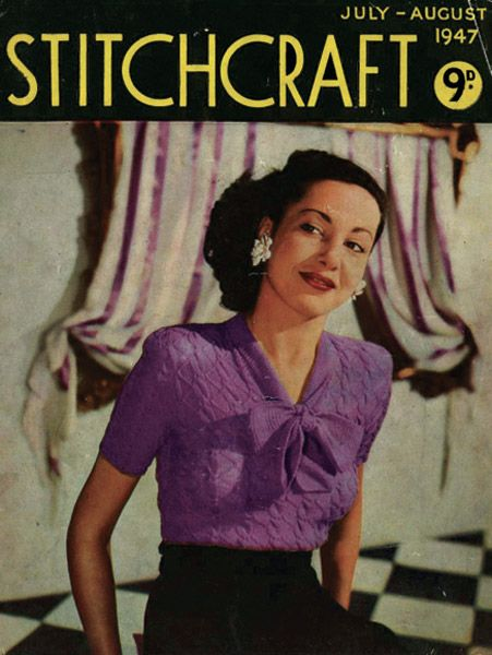 31 best Knitting images on Pinterest   Vintage knitting, Free ...