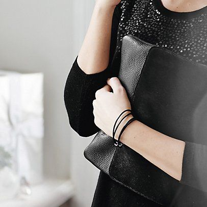 Pony Skin Clutch - Black | The White Company