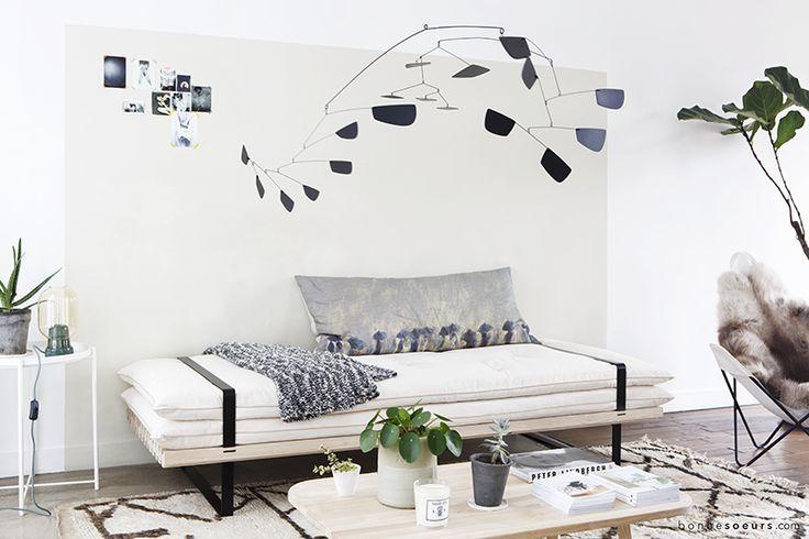 bonnesoeurs design banquette convertible dormeuse lit daybed galerie ambiance salon zen vignette