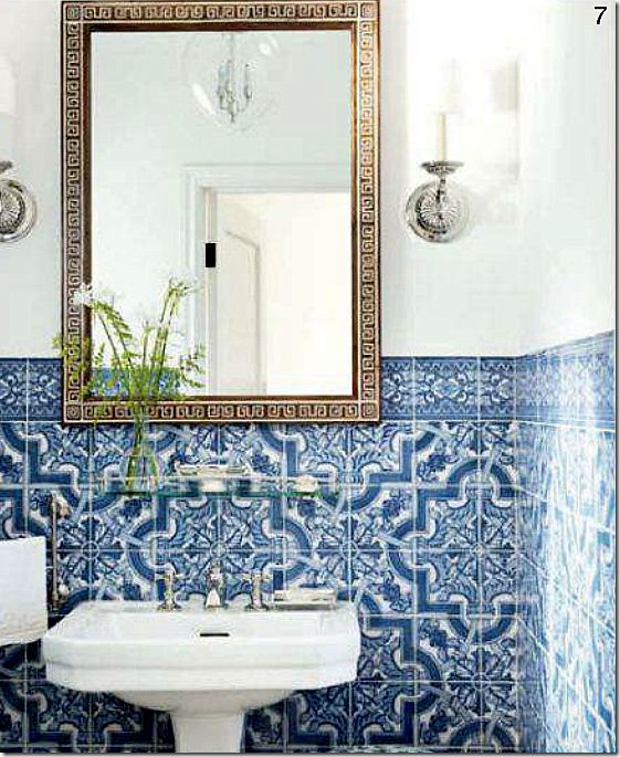 Bathroom Mediterranean Style: 25 Best Images About Moroccan Tile Bathroom On Pinterest