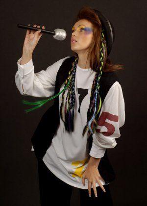 80's Pop Star Chameleon Boy George Style Costume