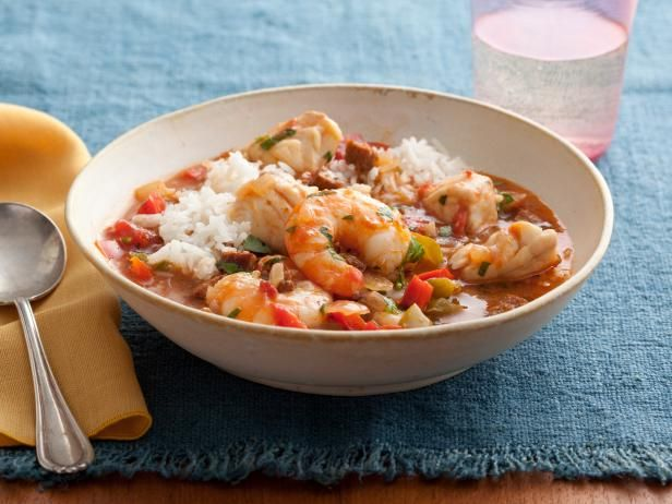 Spicy Cajun Seafood Stew : Cajun seasoning gives a nice spice to this hearty and warming stew.