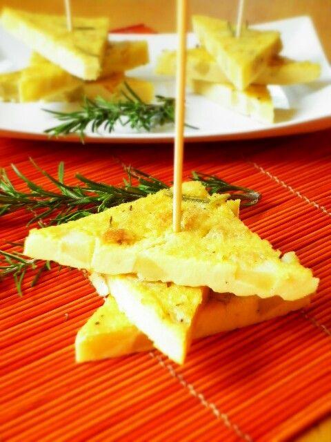 farifrittata di ceci con patate e rosmarino