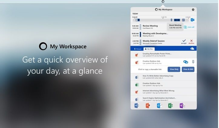Microsoft Garage Debuts My Workspace Office 365 Toolbar for Mac: My Workspace acts as an easy access toolbar for Office 365 on Mac. Users…