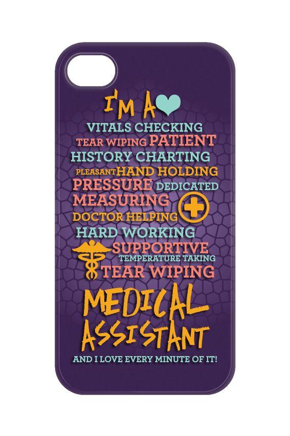 Medical Assistant Poem Phone Case for