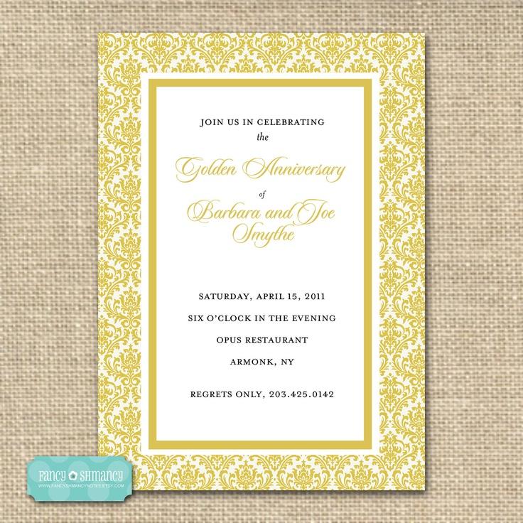 17 Best Images About Golden Wedding On Pinterest