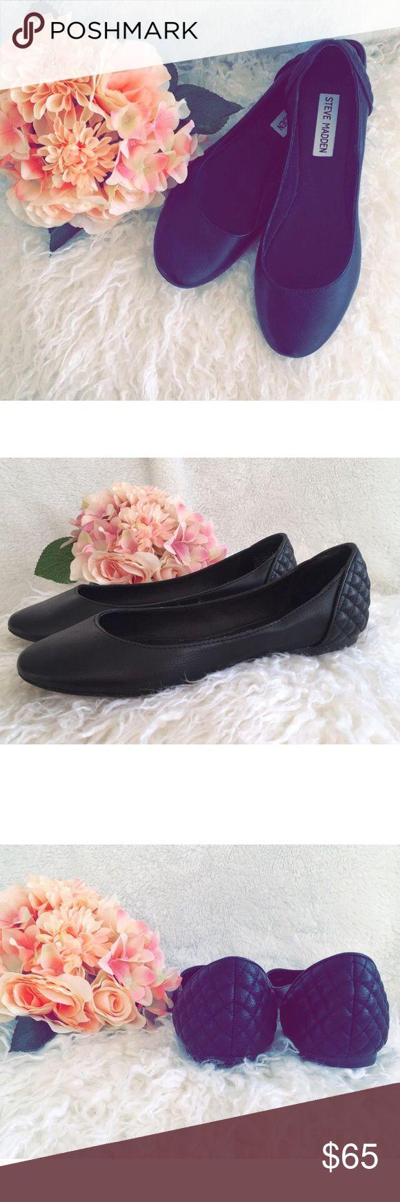 Steve Madden Flats in black Steve Madden Flats in black- New, never worn Steve Madden Shoes Flats & Loafers