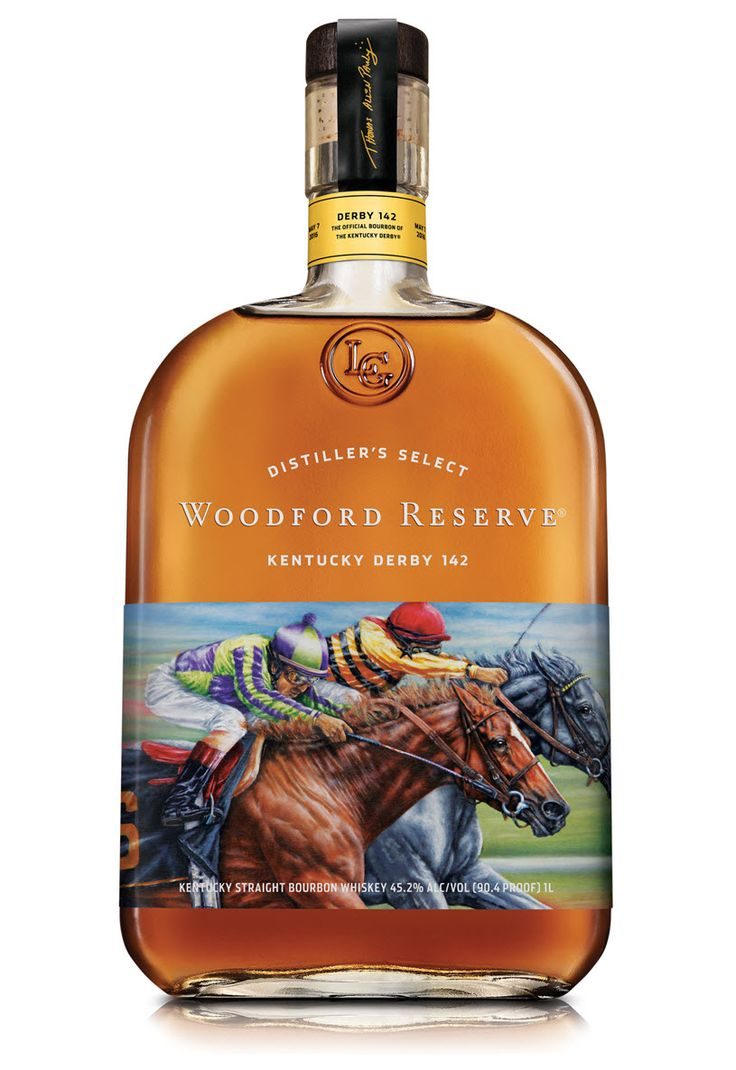 Woodford Reserve 2016 Kentucky Derby 142 Kentucky Straight Bourbon Whiskey #bourboncountry