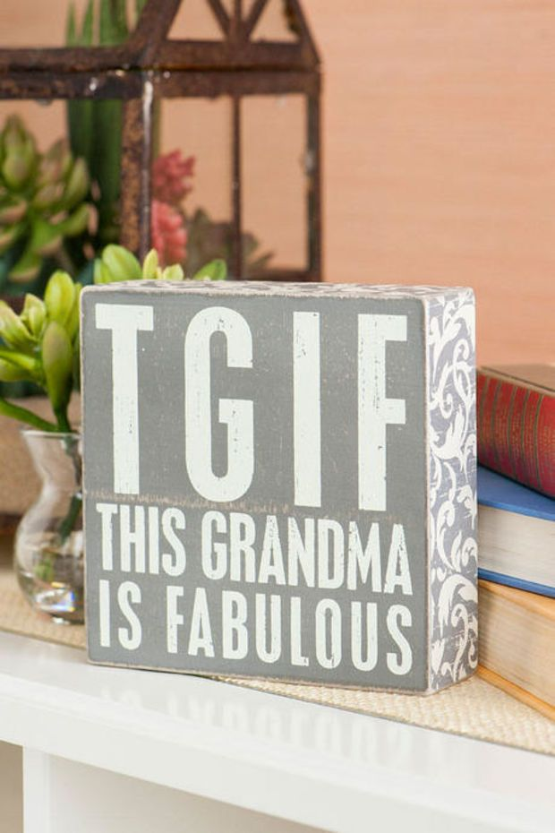 Grandma is fabulous christmas present for grammy for What to give grandma for her birthday