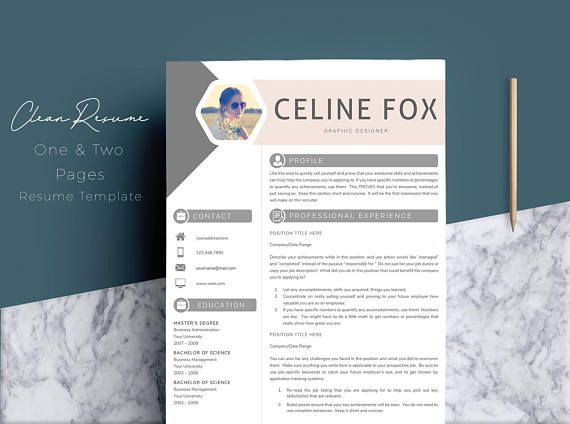 Buy 2 Resume Just $7. Use the Coupon Code RP300. Hello, thanks for check out this item! Profesional Resume Template for Word Instant Download CV Template US Letter and A4 Templates included PC & MAC Compatible using Microsoft Word! This Pro resume template is just what you need to