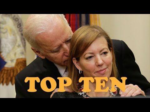 Top 10 Creepy Joe Biden Pics