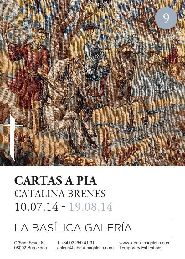 "I had the great honor to make a solo exhibition ""Cartas a Pia"" at La Basilica Galeria Temporary Exhibitions. Barcelona."