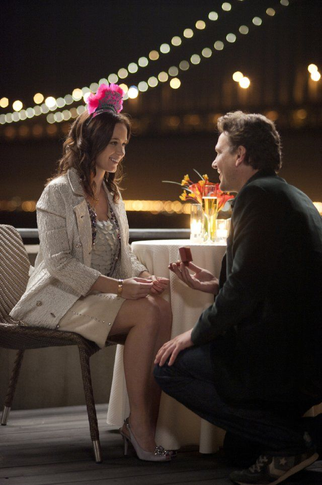 Jason Segel and Emily Blunt in THE FIVE-YEAR ENGAGEMENT, in theatres April 27. #wedding