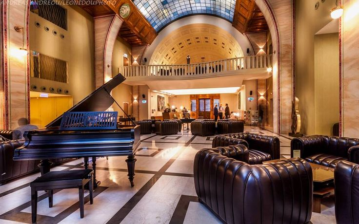 Lobby of Continental Hotel Budapest