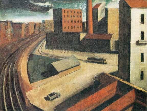 Mario Sironi-Milano metafisica