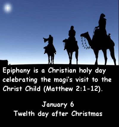 Twelfth day of Christmas is also considered the Day of the Wiseman.