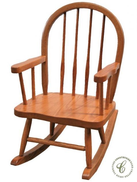 From The Gateway To Amish Country, Our Heirloom Quality Polly Childu0027s  Rocking Chair Is Ready
