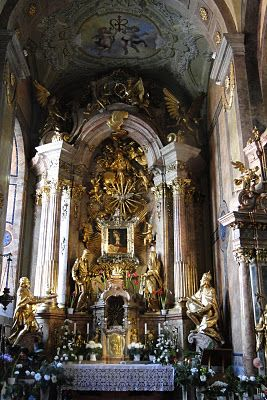 Gyor Cathedral Interiors, Hungary