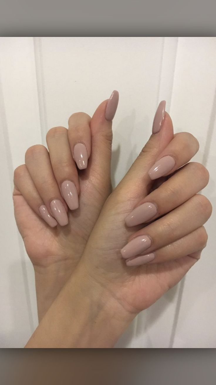 Nude neutral nails, mannequin manicure, natural nails. | See more ideas about Fi…