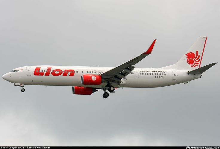 PK-LFY Lion Air Boeing 737-9GP(ER)(WL)