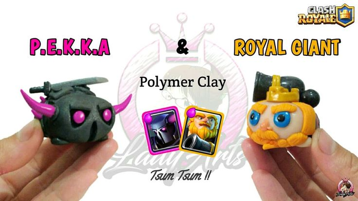 Pekka & Royal Giant | Clash Royale | Polymer Clay Tutorial