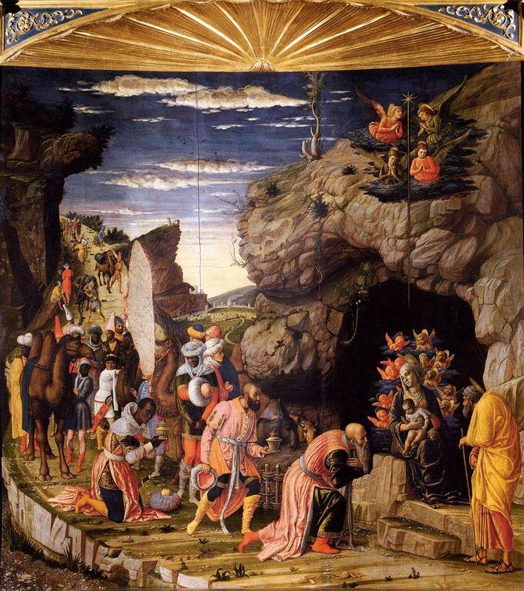 Andrea Mantegna, The Adoration of the Magi, c.1460